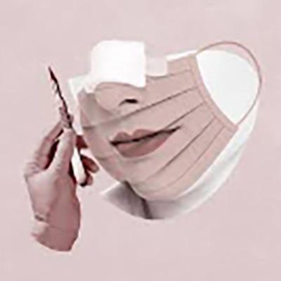 نحوه ماسک زدن بعد از جراحی بینی